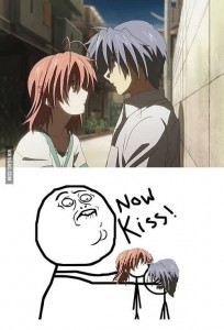 [Clannad] NOW KISS